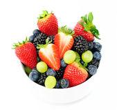 Taze meyve salatası mix — Stok fotoğraf