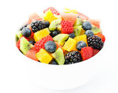 Fresh fruit salad mix — Stock Photo