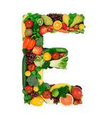 Alfabeto sano - e2 — Foto Stock