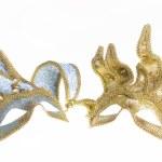 Two Venetian carnival masks — Stock Photo #23635997