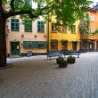 Stockfoto: Old Town square in Stockholm.