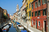 Venice canal in summer. — Stock Photo
