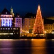 Christmas in Stockholm city. — Stok fotoğraf