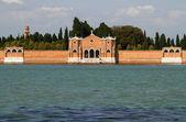 Venedik mezarlığı. — Stok fotoğraf