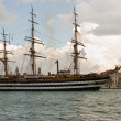 Stock Photo: Tall ship.