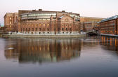 Parliament building in Stockholm, Sweden. — Stock Photo
