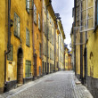 Old Town street, HDR image. — Stock Photo