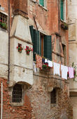 Bella facciata antica. — Foto Stock