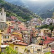 Riomaggiore village, Cinque terre. — Stock Photo