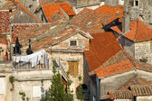Medieval town in Croatia. — Stock Photo
