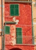 Edifício vintage italiano colorido. — Foto Stock