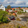 Idyllic village in Stockholm archipelago. — Stock Photo #33656011