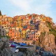 Manarola village Cinque terre, Italy — Stock Photo