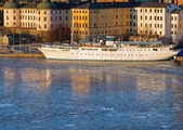 Riddarholmen Stoccolma in inverno. — Foto Stock