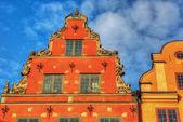 Stockholm vintage architecture. — Foto de Stock