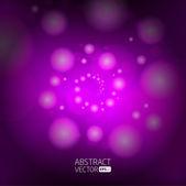 Bulles violettes abstraits vector background — Vecteur