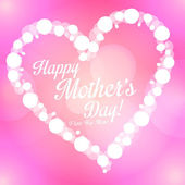 Happy Mother's Day vector background — Stock Vector