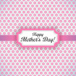 Happy Mother Day vector background — ストック写真