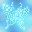 Abstract butterfly vector background — Stock Photo #24161845