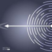 абстрактный фон вектор — Стоковое фото