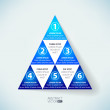 Abstract vector infographic — Stock Photo