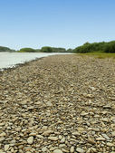 Playa fluvial de — Foto de Stock