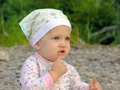 好奇宝宝的性质 — 图库照片
