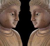 Twins buddha statues. — Stock fotografie