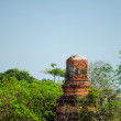Old brick pagoda in thailand — Stock Photo