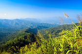 Mountian view in thailand — Stock Photo