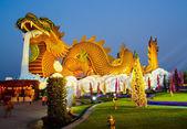 Gold dragon — Stock Photo