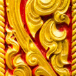 Golden thai handcraft — Stock Photo #25042767