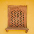 Indian window — Stock Photo