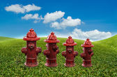 Fire pipe — Stock Photo