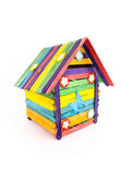 Speelgoed huis — Stockfoto