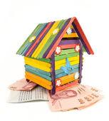 Casa de juguete — Foto de Stock
