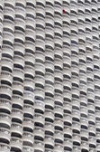 белый балкон в бангкоке — Стоковое фото