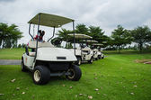 Golf carts — Stock Photo