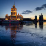 "Moscow, hotel ""Ukraine"" (""Radisson Royal"") — Stock Photo"