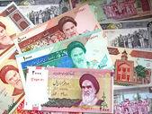 Soldi dell'iran — Foto Stock