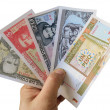 Stock Photo: Modern Cubbanknotes.