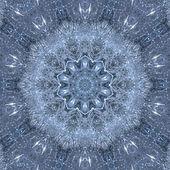 Snowflake of tinsel. — Stock Photo