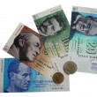 Banknotes and coins of Finland to the introduction of the Euro photo 1 — Stock Photo
