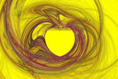 Dimensional heart — Stock Photo
