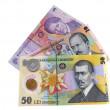 Romanian money — Stock Photo