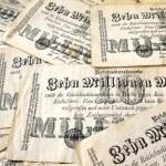 německé peníze v roce 1923 — Stock fotografie