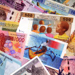 Stock Photo: Banknotes in Africa