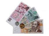 Money of Czech Republic — Stock Photo