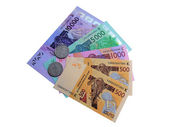 Money Bank in West Africa — Stock Photo