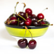 Fresh cherry berries in bowl — Foto Stock #26466991